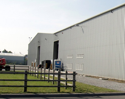 industrial units
